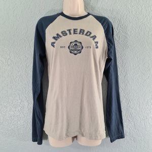 Fox Amsterdam Long Sleeve T-shirt Tee Size S